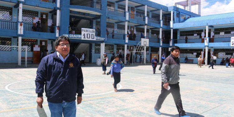 Representantes del Ministerio Publico se trasladaron a diferentes lugares de la región.