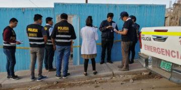 La mujer fue asesinada la madrugada del domingo. (RPP).