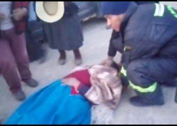 Persona herida fue conducida al hospital de Juliaca.