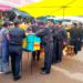 Policía municipal realizo un optativo de ordenamiento a comerciantes.