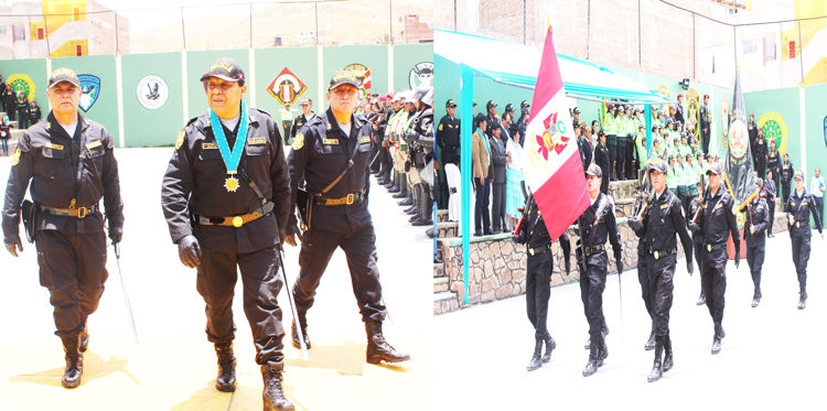 principales autoridades policiales se comprometieron trabajar en favor de la población.