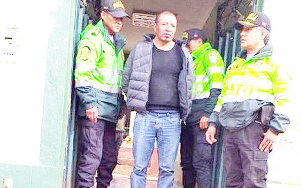 Sujetos se encontraban sospechosos en el distrito de Rosaspata.