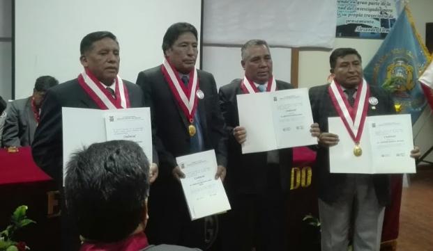 Nuevas autoridades de la UANCV.