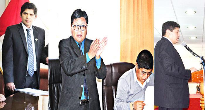 Funcionarios de la Oficina de Control interno del gobierno regional no toma acciones con funcionarios que no cumplen perfil.