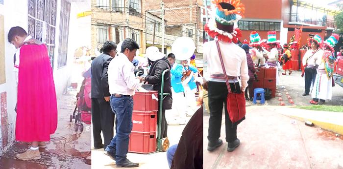 A pesar de las prohibiciones los comerciantes, danzarines y público en general hicieron caso omiso.