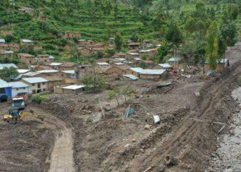 El 15 de febrero cayó un huaico en el centro poblado de Cocas del distrito de Vilcanchos, en la región Ayacucho. (Andina).