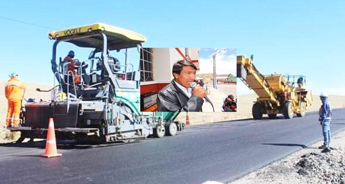 Carretera. Ejecución de la vía Checca-Mazocruz se paraliza por decisión de Provías.