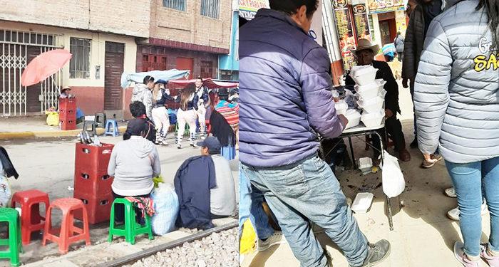 Bebidas alcohólicas  se vendieron en los diversos puntos de la ciudad.