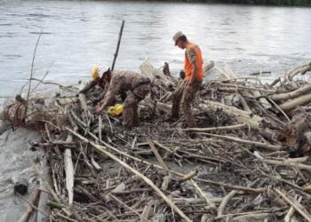 16 cuerpos fueros rescatados hasta el día de ayer viernes donde el clima jugó en contra.