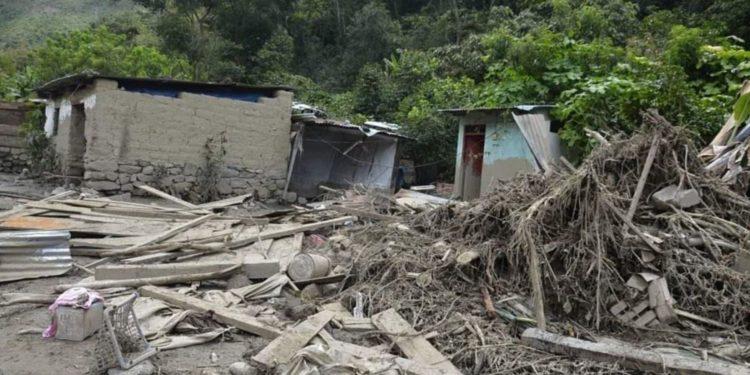 Aluvión en Santa Teresa: 290 destruidas y 1160 damnificados indica primer reporte de daños.
