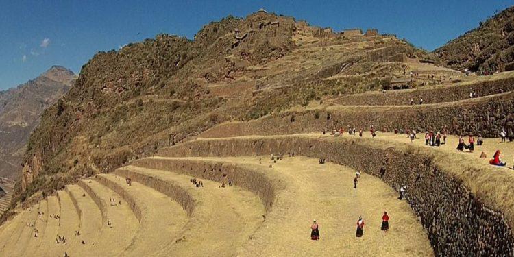 Parque Arqueológico de Pisac estará cerrado hasta que se concluyan las labores de rehabilitación de las vías de acceso. (Andina).