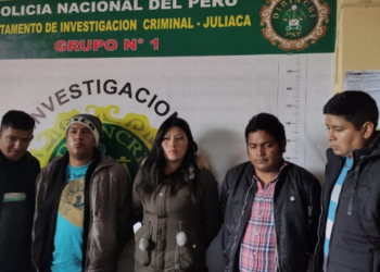 """Fueron detenidos """"Los Rápidos del Pasaje Santa Elisa"""", quienes asaltaban a ciudadanos."""