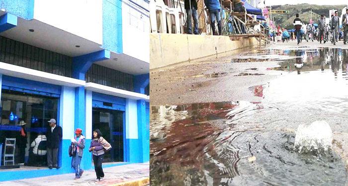 EMSA Puno solicitarán informe sobre el daño que causó a los vecinos y danzarines el colapso de buzones.