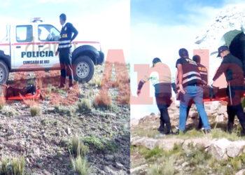 Estudiante murió a unos metros de la capilla del cerro Qharakollu de Juli.