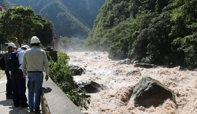 Alerta roja por crecida del caudal de río Verde. Foto: Referencial. (La República).