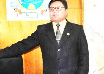 Gobernador. Agustín Luque  retó a sus detractores indicando que si alcanzará expectativa de gasto al primer trimestre.