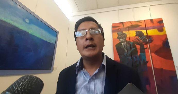 Jorge Ramos Loaiza, presidente de la Federación Regional de Folklore y Cultura de Puno .