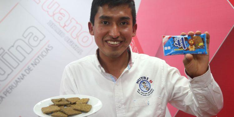 Ingeniero industrial ayacuchano producirá galletas para veganos y con omega 3. (Andina).