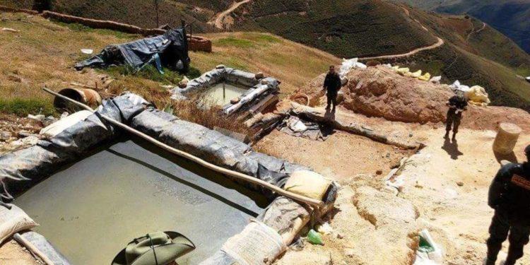 Incautan 200 kg de oro valorizados en US$ 10 millones en operativo contra minería ilegal. (Andina).