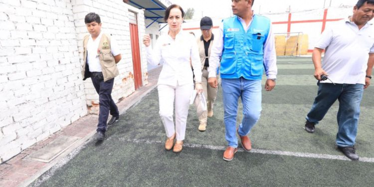 Ministra de Justicia y Derechos Humanos, Ana Teresa Revilla.