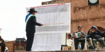 Alcalde de  Moho efectuó el informe económico correspondiente al año fiscal 2019.