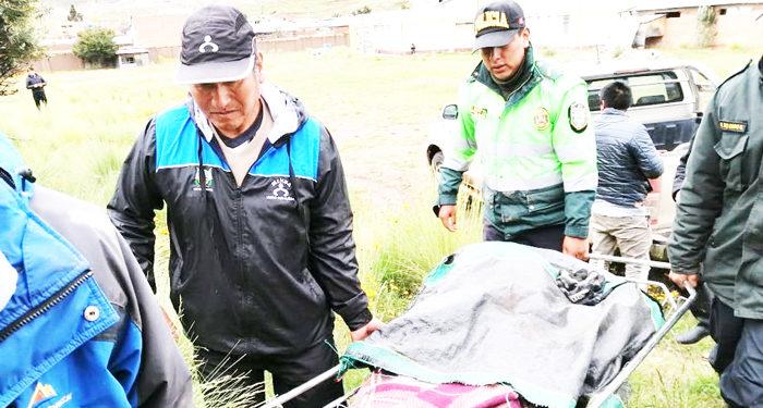 Nueva victima fue fulminado por los rayos mortales en época de lluvia.