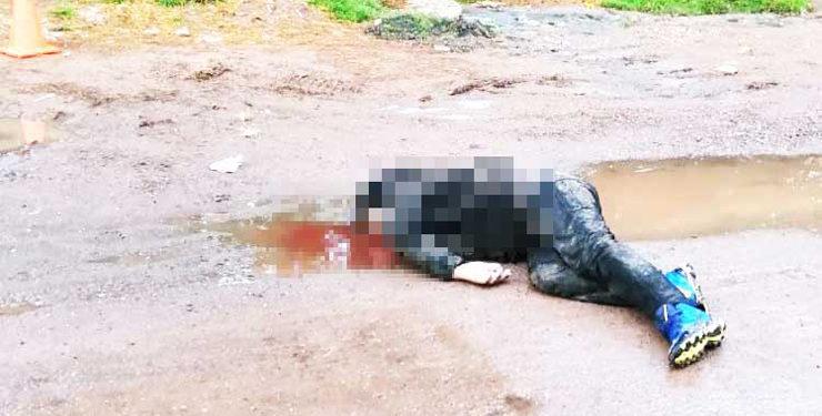El infortunado varón murió por varios golpes.