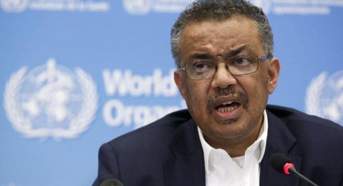 El director general de la Organización Mundial de la Salud (OMS), Tedros Adhanom Ghebreyesus. (EFE).