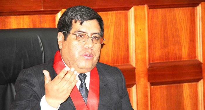 Presidente del poder judicial apoyara a la federación regional de folclore con aplicativo web.