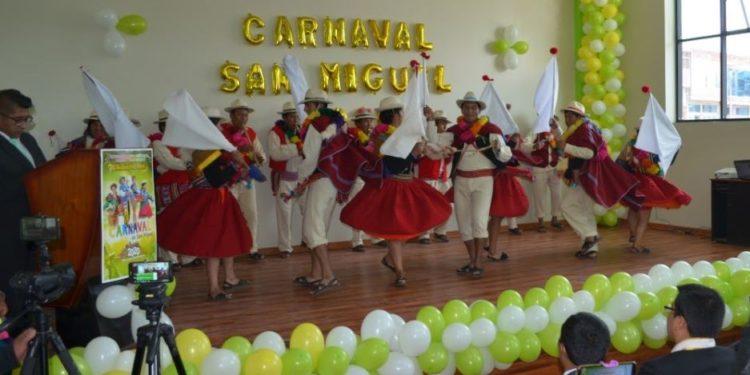 Carnavales ya se vive en el distrito de San Miguel.