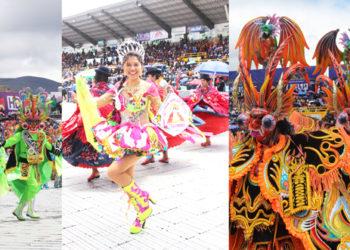 Diablada Bellavista se coronó como campeón en la festividda de la Virgen de la Candelaria 2020.