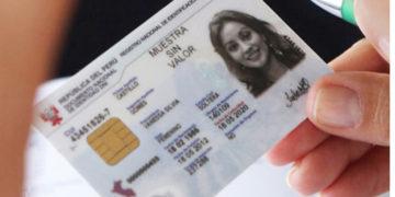 Solo 2 mil 500 tramites de DNI electrónico se registraron en Puno.
