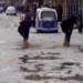 Situación en la terminaron algunas calles de la ciudad de Juliaca.