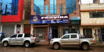 Instituto, presuntamente bamba estaba ubicado en el jirón Moquegua.