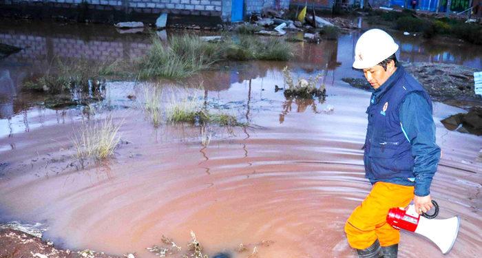 Por inundaciones, fueron  localizadas zonas en riesgo.