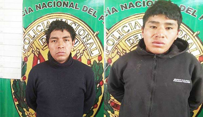 Ambos sujetos quedaron en calidad de detenidos.
