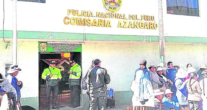Delincuentes asaltan a una familia en la provincia de Azángaro.