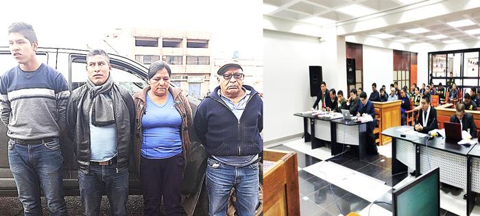 Dictan 18 meses de prisión preventiva para traficantes de droga.