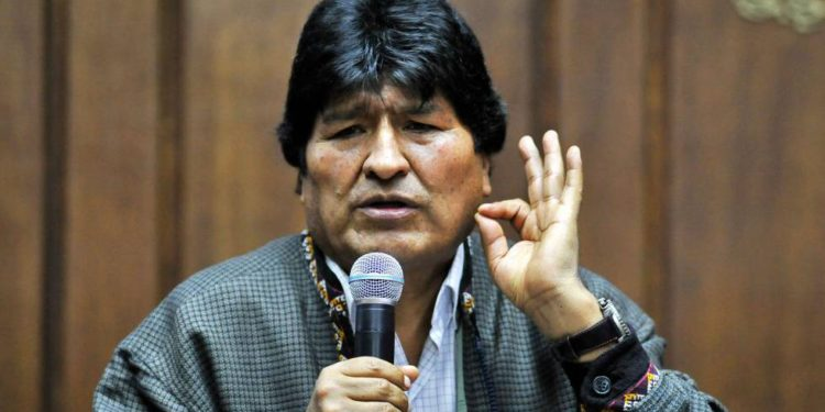 Evo Morales, expresidente de Bolivia. (AFP)
