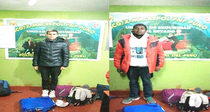 Tres colombianos fueron detenidos por la presunta infracción a la ley de Extranjería.