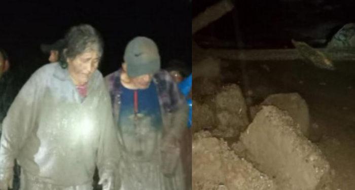 Las lluvias intensas ocasionaron la activación del riachuelo Cocas, que provocó un huaico en el centro poblado de Cocas, región Ayacucho. (Andina).
