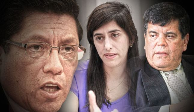 """""""De la manera más contundente rechazamos todo tipo de adjetivos"""", comentó el premier Zeballos. (La República)."""