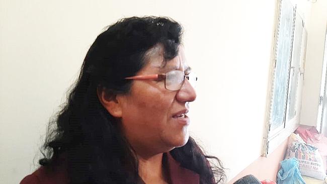 Adelayda Sancho Chávez.