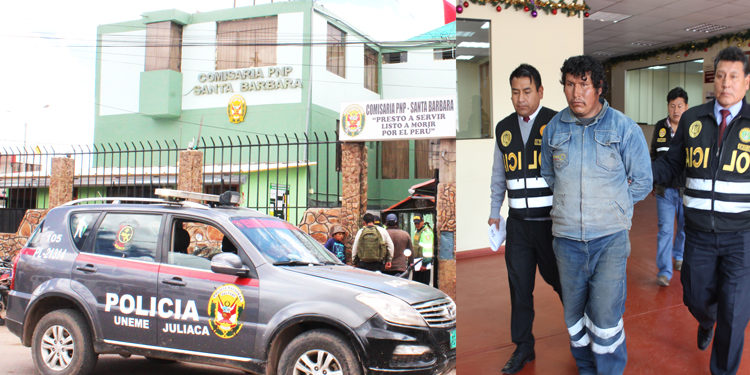 Presunto violador permanecerá en la cárcel de la comisaria PNP.