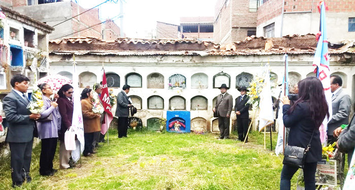 Grupos pandilleros. Participaron en romería.