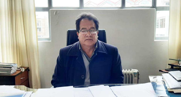 Vicerrector de la Universidad Nacional de Altiplano (UNA) Puno, Rogelio Flores, brindó información.