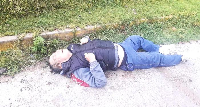 Hipótesis. Por como fue hallado, se presume que el varón falleció a causa de una hipotermia.