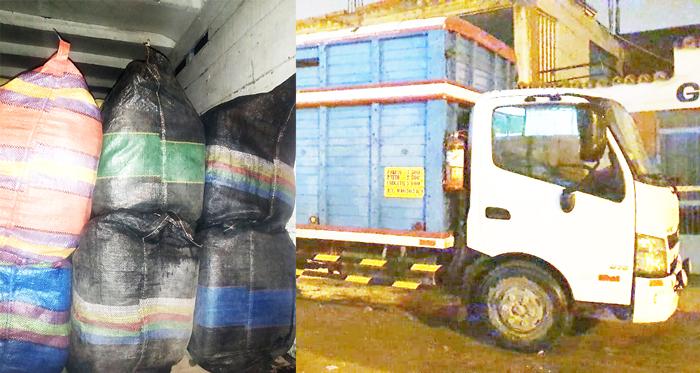 Incautan mercadería ilegal en un vehículo que fue abandonado por el conductor.