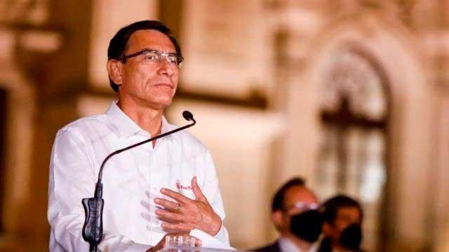 18 meses de impedimento de salida del país contra Martín Vizcarra