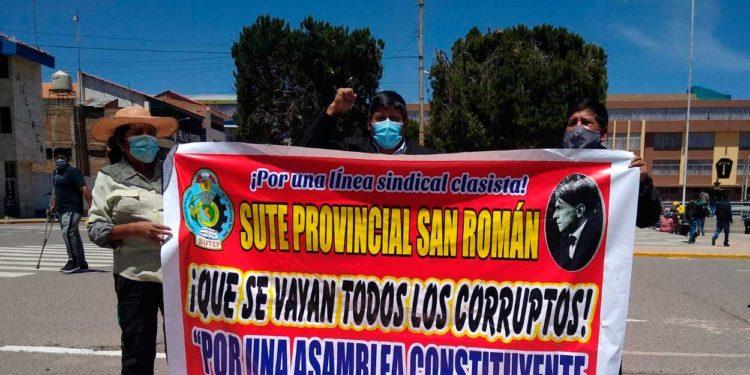 SUTEP. Se movilizara contra el gobierno central